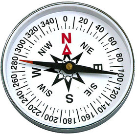 Steel Bong Magnetic Compass
