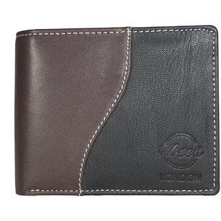Vbees London Men Brown, Black Inspiration Genuine Leather Wallet