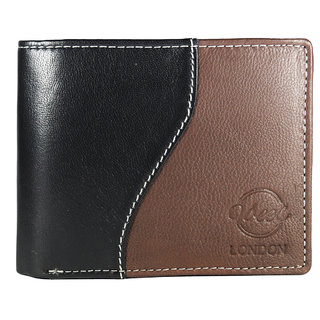 Vbees London Men Black, Brown Inspiration Genuine Leather Wallet