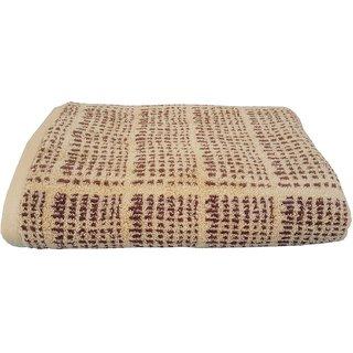Divine Overseas Premium One Piece  Soft  Pure Cotton Bath Towel - L Brown