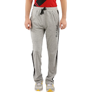 Red Line Mens Grey Melange Cotton Trackpant
