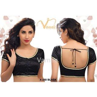 VAMAS DESIGNER NEW BLOUSES-Black-VDBMX258827-VP-Net