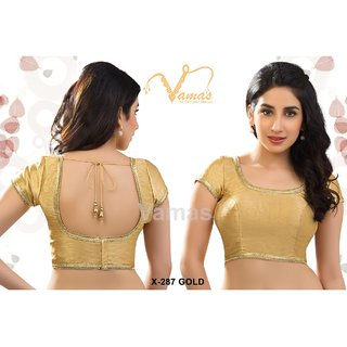 VAMAS DESIGNER NEW BLOUSES-Gold-VDBMX287895-VP-Net