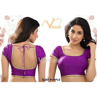 VAMAS DESIGNER NEW BLOUSES-Purple-VDBMX287900-VP-Net