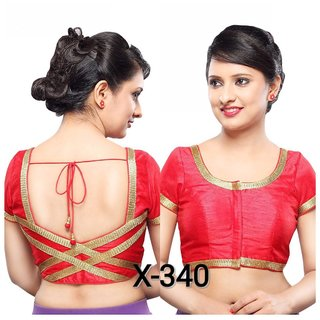 VAMAS DESIGNER NEW BLOUSES-Red-VDBMX340323-VP-Net