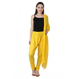 PISTAAS YELLOW Bottom With Dupatta