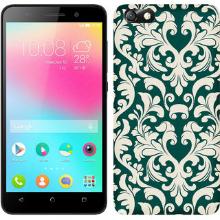 TrilMil Printed Back Case for Huawei Honor 4X