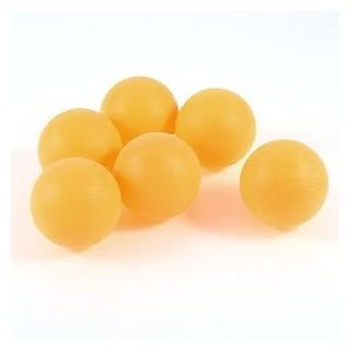 Table Tennis Balls - Yellow (Pack of 3 Balls)