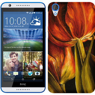 TrilMil Printed Back Case for HTC DESIRE 820