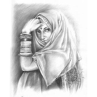 Satyaki Creative Pencil Sketch Painting