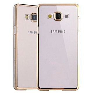Meephone Back Cover For Samsung Galaxy A7 (Golden)