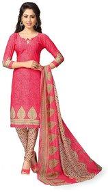 DnVeens Womens Chudidar Printed Unstitched Salwar Suits Dress Material
