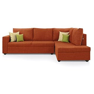 Comfort Couch in Rust Color