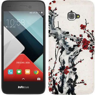 TrilMil Printed Back Case for InFocus M350