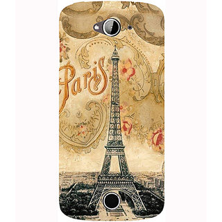 Casotec Vintage Paris Tower Design Hard Back Case Cover for Acer Liquid Z530