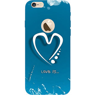 Casotec Love Design Hard Back Case Cover for Apple iPhone 6 / 6S