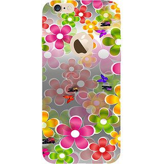 Casotec Butterflies Design Hard Back Case Cover for Apple iPhone 6 / 6S