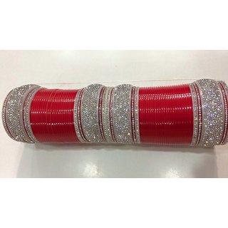 Bridal Chura In Red Colour
