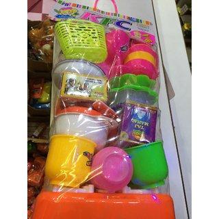 Kids pretend kitchen toys set