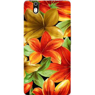 TrilMil Printed Back Case for InFocus M810