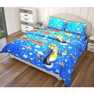 Just Linen 170 Tc Cotton Printed Single Size Ac Comforter