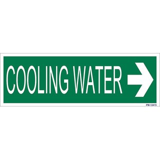 SignageShop  High quality Vinyl Cooling Water Sign