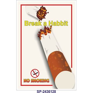 SignageShop  High quality flex No smoking Poster