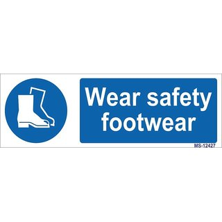 SignageShop  High quality Vinyl Wear Safety Footwear Sign