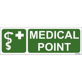 SignageShop  Glow in Dark Medical Point Sign