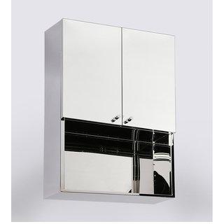 JJ Sanitaryware Lena Stainless Steel Bathroom Mirror Ca