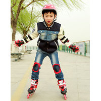Kids Roller Skating Skateboard Elbow Knee Pads Wrist Protective Guard Gear Pad Gear Joint Guard Protective Pad for Kids