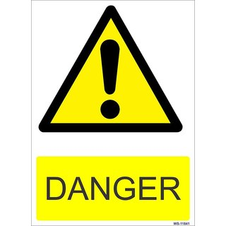 SignageShop  High quality Vinyl Danger Sign