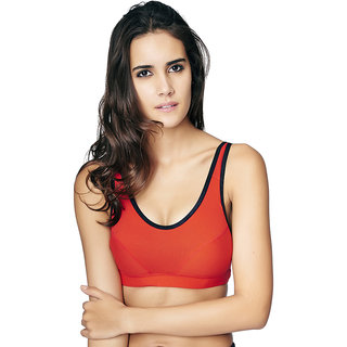 Restless Red Sports Bra