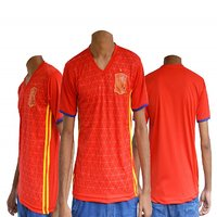 Spain football fan upper jersey ( Red )