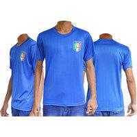 Italy Football fan upper jersey ( Blue )