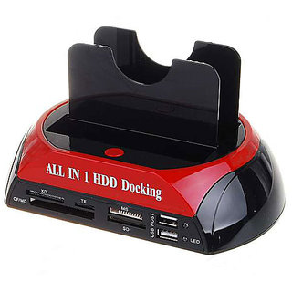 Dual IDE SATA HDD Hard Drive Disk Dock Docking Station