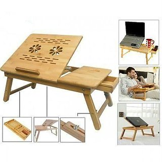 Wooden Foldable Laptop Table / Study Table