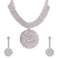 The Pari Designer Silver Necklace (EY-18)