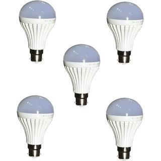 Led bulb 15 watt (Set of five)