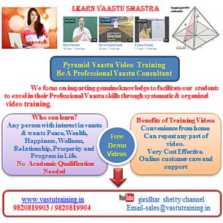 Pyramid Vastu Video Training