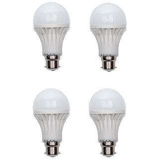 12W White LED Bulbs (Pack of 4)