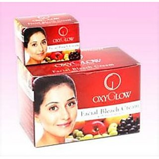 Facial Bleach Cream With Fruit extracts Key Ingredients 50gm