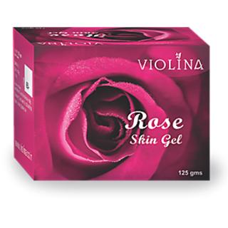 VIOLINA Rose Skin Gel Natural and Cool - 125 gm