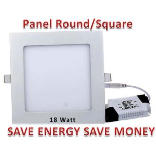 18W Panel Round/Square