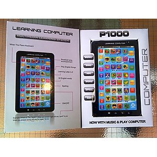 P1000 Kids Educational Learning Tablet Computer Toy Gift Children Toy