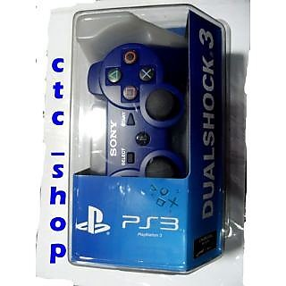 New Wireless Controller Remote Joystick For Sony PS3 Playstation 3 Blue Color