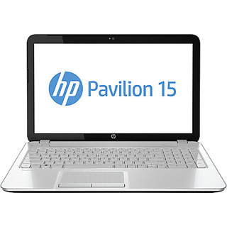 HP Pavilion 15-n206TX Laptop (3rd Gen Ci3/ 4GB/ 500GB/ Win8.1/ 2GB Graph) White