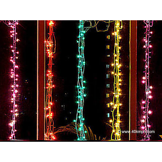 pack of 10 Rice lights Serial bulb decoration light for Navratri,Diwali