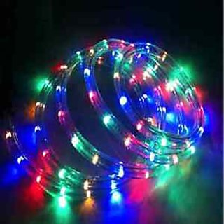 Round Pipe Rope light LED Rice Light for Diwali - 55 Feets