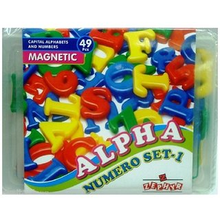 A2Z 0to9 Magnetic 49 Pcs